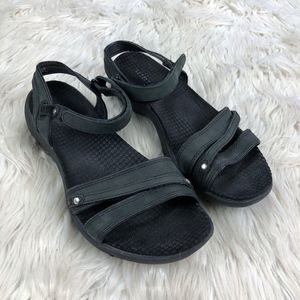 Merrell Dahlia Leather Strappy Sport Sandals
